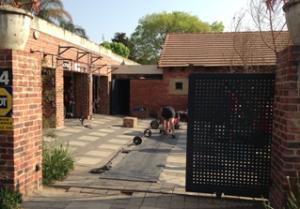Garage-outdoor-gym-Clark-street-Pretoria