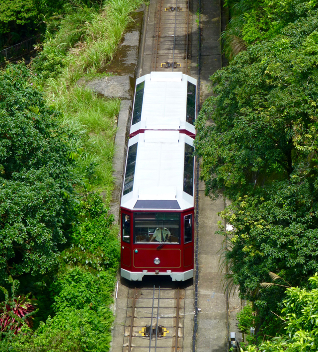 New-tram-to-victoria-peak-hong-kong